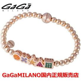 【国内正規品】GaGa MILANO ガガミラノ Men's Ladies/メンズ レディース GB Bracelet/GBブレス GB-MARK-PG-MLT/マーク マルチカラー