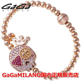 【国内正規品】GaGa MILANO ガガミラノ Men's Ladies/メンズ レディース GB Bracelet/GBブレス GB-SMILE-PG-MLT/スマイル マルチカラー