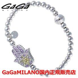 【国内正規品】GaGa MILANO ガガミラノ Men's Ladies/メンズ レディース GB Bracelet/GBブレス GB-HAND-WG-MLT/ハンド マルチカラー