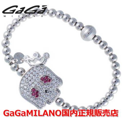 【国内正規品】GaGa MILANO ガガミラノ Men's Ladies/メンズ レディース GB Bracelet/GBブレス GB-SKULL2-WG-MLT/スカル マルチカラー