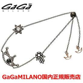 【国内正規品】GaGa MILANO ガガミラノ Men's Ladies/メンズ レディース GB Bracelet/GBブレス EYE BLK-1/アイモデル