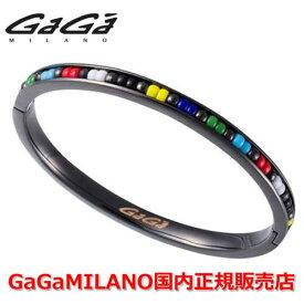 【国内正規品】GaGa MILANO ガガミラノ Men's Ladies/メンズ レディース Bracelet/ブレスレット BANGLE6/バングル6 BLK