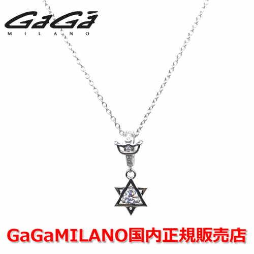 【国内正規品】【売れ筋】GaGa MILANO/ガガミラノ Men's/メンズ Ladies/レディース STAR S NECKLACE/スターSネックレス WG/WHITE 【10P03Dec16】