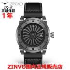 【国内正規品】ZINVOジンボメンズ腕時計GUNMETALガンメタル