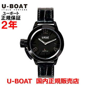 国内正規品 U-BOAT ユーボート メンズ レディース 腕時計 自動巻 クラシコ40 ブラックダイヤモンド CLASSICO 40 IPB BLACK DIAMONDS 6951
