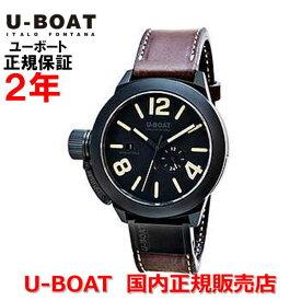 国内正規品 U-BOAT ユーボート メンズ 腕時計 自動巻 クラシコ ブラックセラミック マットケース CLASSICO 48 BK CER MATT CASE 8107ダイバーズ