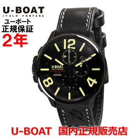 国内正規品 U-BOAT ユーボート メンズ 腕時計 クオーツ カプソイル クロノ CAPSOIL CHRONO DLC 8109