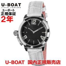 国内正規品 U-BOAT ユーボート レディース 腕時計 クオーツ クラシコ38 ブラックマザーオブパール CLASSICO 38 Black Mother of pearl 8482WH
