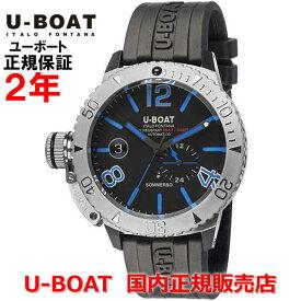 国内正規品 U-BOAT ユーボート メンズ 腕時計 自動巻 クラシコ ソンメルソ CLASSICO SOMMERSO BLUE RUBBER 90014R ダイバーズ
