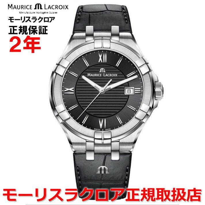 【国内正規品】MAURICE LACROIX モーリスラクロア アイコン デイト AIKON DATE メンズ 腕時計 クオーツ AI1008-SS001-330-1