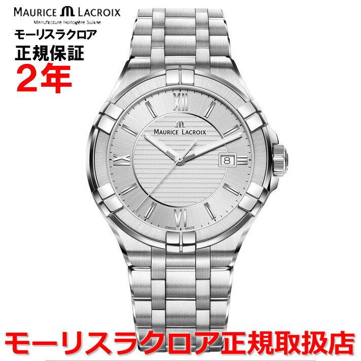 【国内正規品】MAURICE LACROIX モーリスラクロア アイコン デイト AIKON DATE メンズ 腕時計 クオーツ AI1008-SS002-130-1