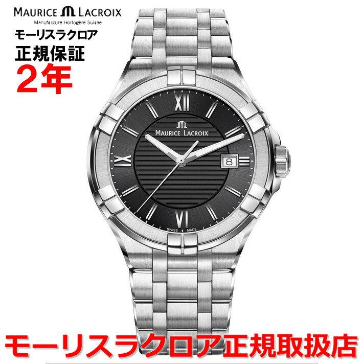 【国内正規品】MAURICE LACROIX モーリスラクロア アイコン デイト AIKON DATE メンズ 腕時計 クオーツ AI1008-SS002-330-1