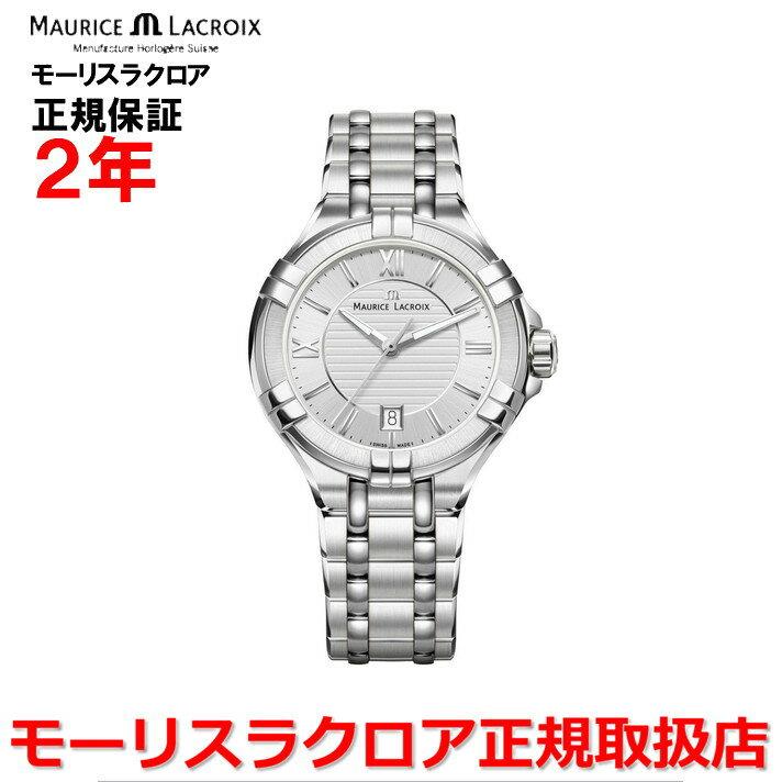 【国内正規品】MAURICE LACROIX モーリスラクロア アイコン デイト AIKON DATE レディース 腕時計 クオーツ AI1004-SS002-130-1