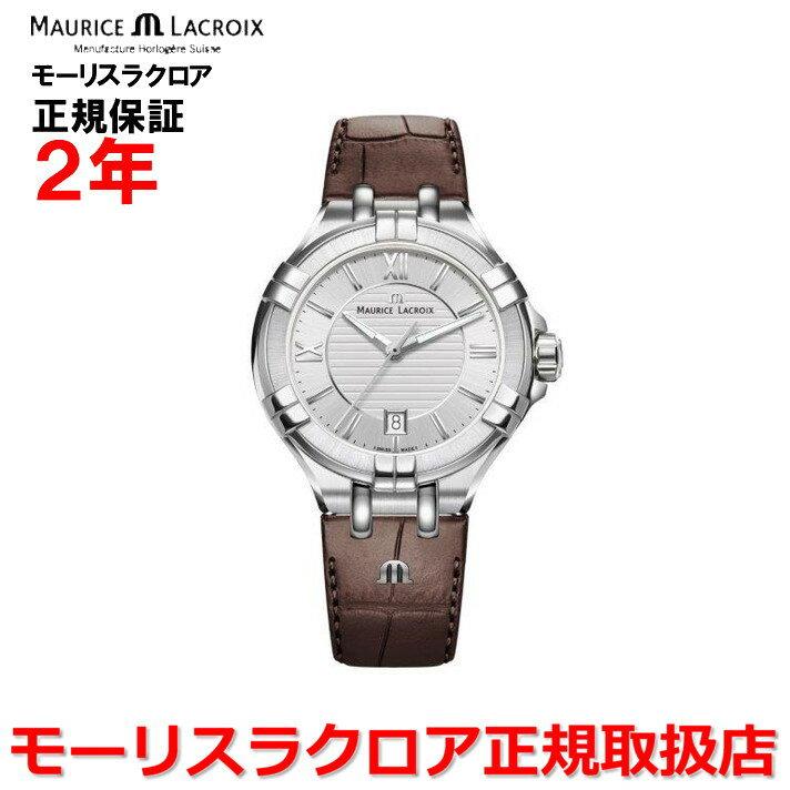 【国内正規品】MAURICE LACROIX モーリスラクロア アイコン デイト AIKON DATE レディース 腕時計 クオーツ AI1004-SS001-130-1