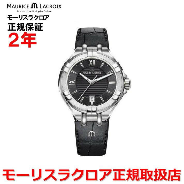 【国内正規品】MAURICE LACROIX モーリスラクロア アイコン デイト AIKON DATE レディース 腕時計 クオーツ AI1004-SS001-330-1