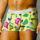 【5/14まで2480円】 FRANK DANDY/Guts N Glory Short Boxer (ライム) 【正規品】【レビューで5%OFF】【楽ギフ_包装選択】【あす楽】ボクサーパンツ誕生日