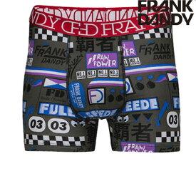FRANK DANDY 【2枚で送料無料】 Rev Head Boxer グレー hade ブランド 正規品 下着 パンツ インナー ボクサーパンツ 誕生日 プレゼント ギフト ラッピング 無料 彼氏 父 男性 旦那 大人