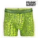 FRANK DANDY/Crocodile Boxer(Green)【hade】【正規品】【レビューで5%OFF】【楽ギフ_包装選択】【あす楽】ボクサーパンツ誕生日 プレゼント ギフト ラッピング 無