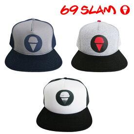 送料無料 69SLAM ロックスラム メンズ CAP 69SLAM ICE CREAM キャップ 帽子 ボクサーパンツ メンズ ブランド 正規品 下着 パンツ インナー 誕生日 プレゼント ギフト ラッピング 無料 彼氏 父 男性 旦那 大人