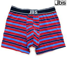 JBS CLASSIC ボーダー柄 レッド×ブルー ジェイビーエス ボクサーパンツ メンズ ブランド 正規品 下着 パンツ インナー ローライズ 誕生日 プレゼント ギフト ラッピング 無料 彼氏 父 男性 旦那 大人
