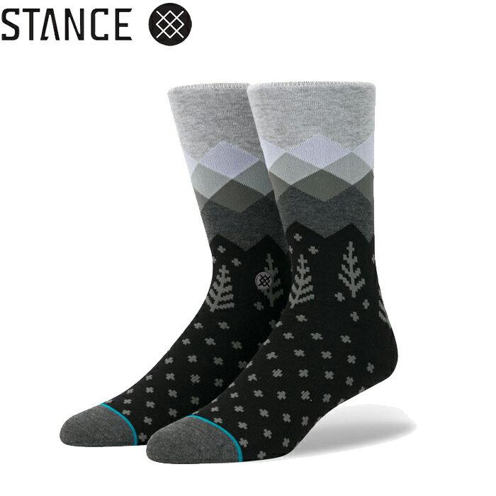STANCE スタンス ソックス STANCE socks Valleys ブラック グレー 靴下 メンズ ブランド おしゃれ スポーツ 正規品 下着 パンツ インナー 誕生日 プレゼント ギフト ラッピング 無料 xl ^^ 彼氏 父 男性 旦那 大人 敬老の日ギフト