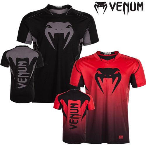 送料無料 VENUM ベヌム Hurricane X Fit T-shirtラッシュガード 半袖 ブランド 正規品 格闘技 MMA UFC ボクシング キックボクシング ^^ 彼氏 父 男性 旦那 大人