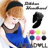 Simple ribbon headband [hac001] heaakuse hair accessories wedding 3 party head axe ornament black ribbon headband    