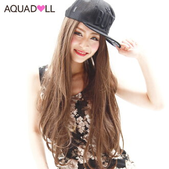 Wigs Extensions AQUADOLL | haircut of uniform length straight wig [wg022]