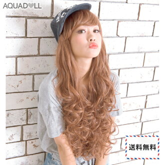 Wigs Extensions AQUADOLL | Airy Curl Long wig [wg026]