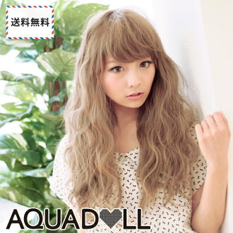 Wigs Extensions AQUADOLL | Loose wave Nudie Long Wave wig [wg072]