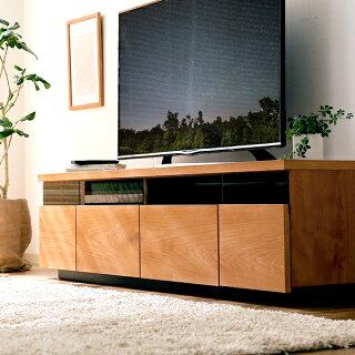 テレビ台完成品170cm日本製節あり突板