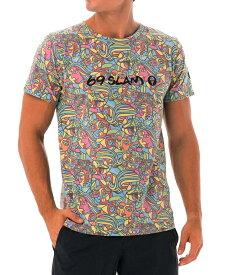 【20SS 新作】【69SLAM】水陸両用 ロックスラム メンズ ラッシュ CUBISM MOCK Tシャツ / MTXCOK-YL【メール便選択で送料無料】【ハロウィン ギフト】