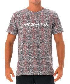 【20SS 新作】【69SLAM】水陸両用 ロックスラム メンズ ラッシュ TOTEM MSK Tシャツ / MTXTMS-BK【メール便選択で送料無料】【ハロウィン ギフト】