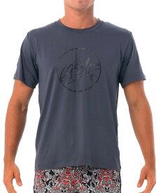 【20SS 新作】【69SLAM】水陸両用 ロックスラム メンズ ラッシュ 69 BUBBLE Tシャツ UVカット / MTZUBE-GY【メール便選択で送料無料】【ハロウィン ギフト】