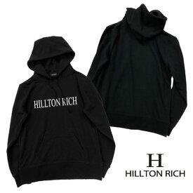 【HILLTON RICH】ヒルトンリッチ メンズ ビッグロゴ パーカー♪ HRT-020【XS/S/M/L】【メール便不可】【クリスマス ギフト】
