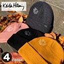 キース・ヘリング ワンポイント ニットキャップ★ ペア・お揃い リンク コーデにも♪【Keith Haring】【CAP/帽子】【TD】【メール便選択で送料無料】【ホワイトデー ギフト お返し】
