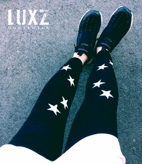 The lady's star leggings which are individual by fashion