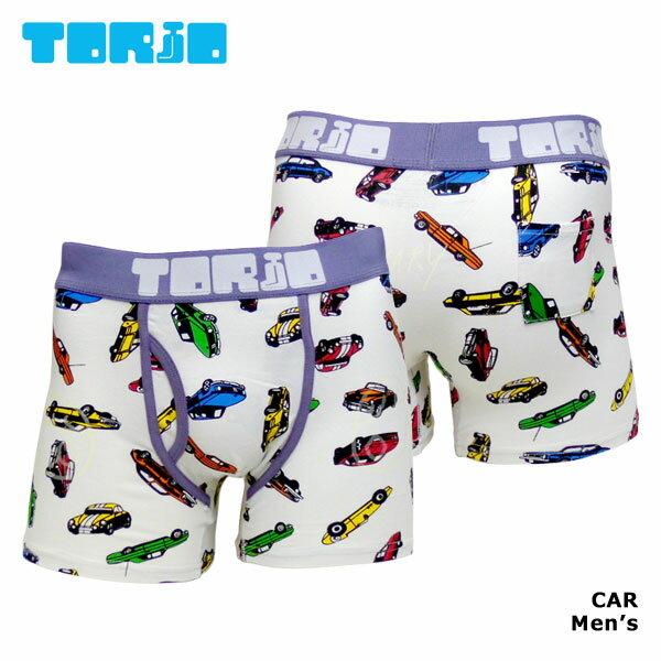 【TORIO】CAR / 110950トリオ光るメンズボクサーパンツ【メール便送料無料】【父の日 ギフト】