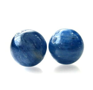 1粒売り カイヤナイト 8.0mm玉 ランクAA 天然石ビーズ 丸玉 バラ売り 穴あき パワーストーン