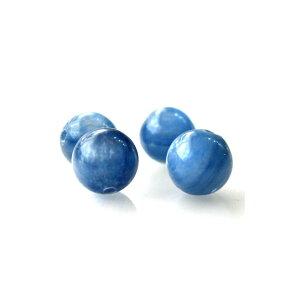 1粒売り カイヤナイト 6.0mm玉 ランクAA 天然石ビーズ 丸玉 バラ売り 穴あき パワーストーン