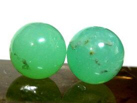 天然石ビーズ クリソプレーズAA8ミリ玉/1粒