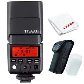 【楽天スーパーSALE 15%OFF】【正規品 技適認証済み 日本語説明書付】Godox Thinklite TTL TT350S ミニカメラフラッシュ高速1 / 8000s GN36 ソニーミラーレス DSLR カメラ A77II A6000 A6500 RX10 シリーズ
