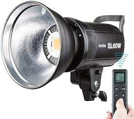 【楽天スーパーSALE 15%OFF】【日本正規代理店/1年保証/PSE認証済み】Godox SL-60W LEDスタジオライト 撮影ライト 5600±300K Bowens LED電球 ビデオライト ストロボ ワイヤレスコントロール スタジオ撮影ライト