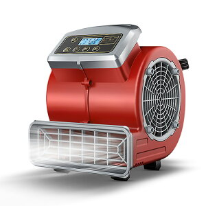 送風機 業務用・家庭用両用 小型 強力 エアムーバー 工場扇 工業 扇風機 床置型 フロア扇 空気循環 乾燥 3段階風量 300W 大風力 本体重量5KG LVYUAN(リョクエン)