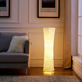 【楽天スーパーSALE 15%OFF】フロアランプ フロアライト 和室 照明器具 間接照明 スタンド照明 スタンドライト スタンド リビング 北欧 和風 高さ132cm 純和風テイスト シンプル(26cm×132cm+2個のLED電球) LVYUAN(リョクエン)