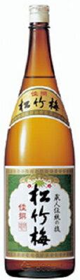松竹梅 佳撰 1.8L【清酒】<日本酒 ギフト プレゼント Gift 贈答品 内祝い お返し お酒 日本酒 1800 一升瓶>