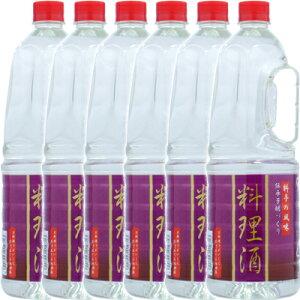 【 ギフト】伝統芳醇づくり 料理酒ペット 1.8L×6本(1ケース)【2ケースまで1配送料】<料理酒(調理酒)>