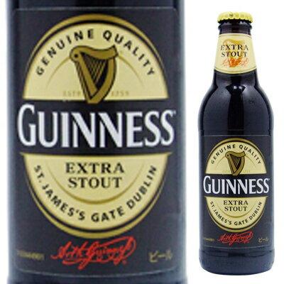 【アイルランドビール】ギネス・瓶 330ml< 瓶ビール お酒 ビール ギフト プレゼント Gift お酒>