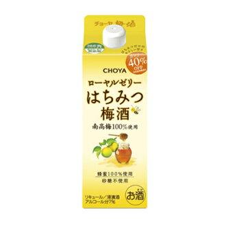 Choya 蜂王浆蜂蜜青梅酒 500 毫升 < 礼物礼物礼品酒 >