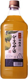 Suntory premium fruit wine bunch Okinawa from citrus 1. 8 l < gift gift Gift liquor wine >